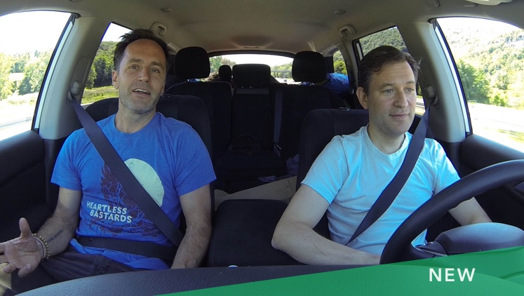 2 Meditators in a Car